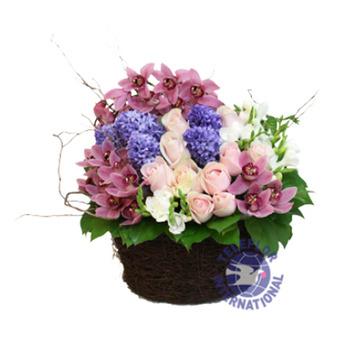 [홍콩]꽃바구니-2
