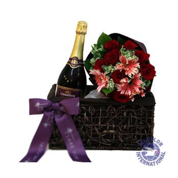 [홍콩]꽃과 와인