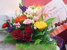 [싱가포르]꽃과 초코렛