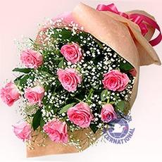 [일본]핑크장미 꽃다발