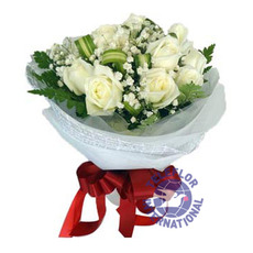 [태국]9 White Roses