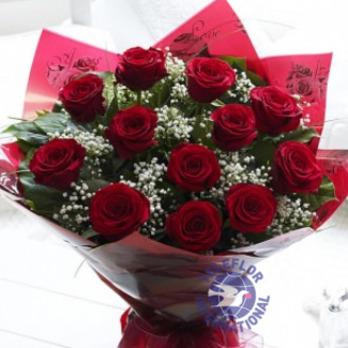 [필리핀]빨간장미꽃다발
