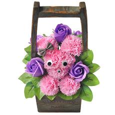 비누꽃 뿌잉뿌잉-핑크