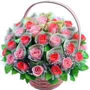 비누꽃-돈꽃바구니