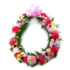 꽃목걸이-B