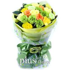 비누꽃-졸업식 꽃다발A