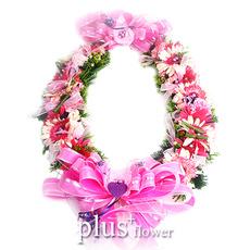 꽃목걸이-A